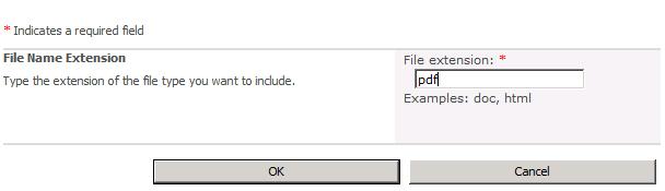 indexing pdf files using java